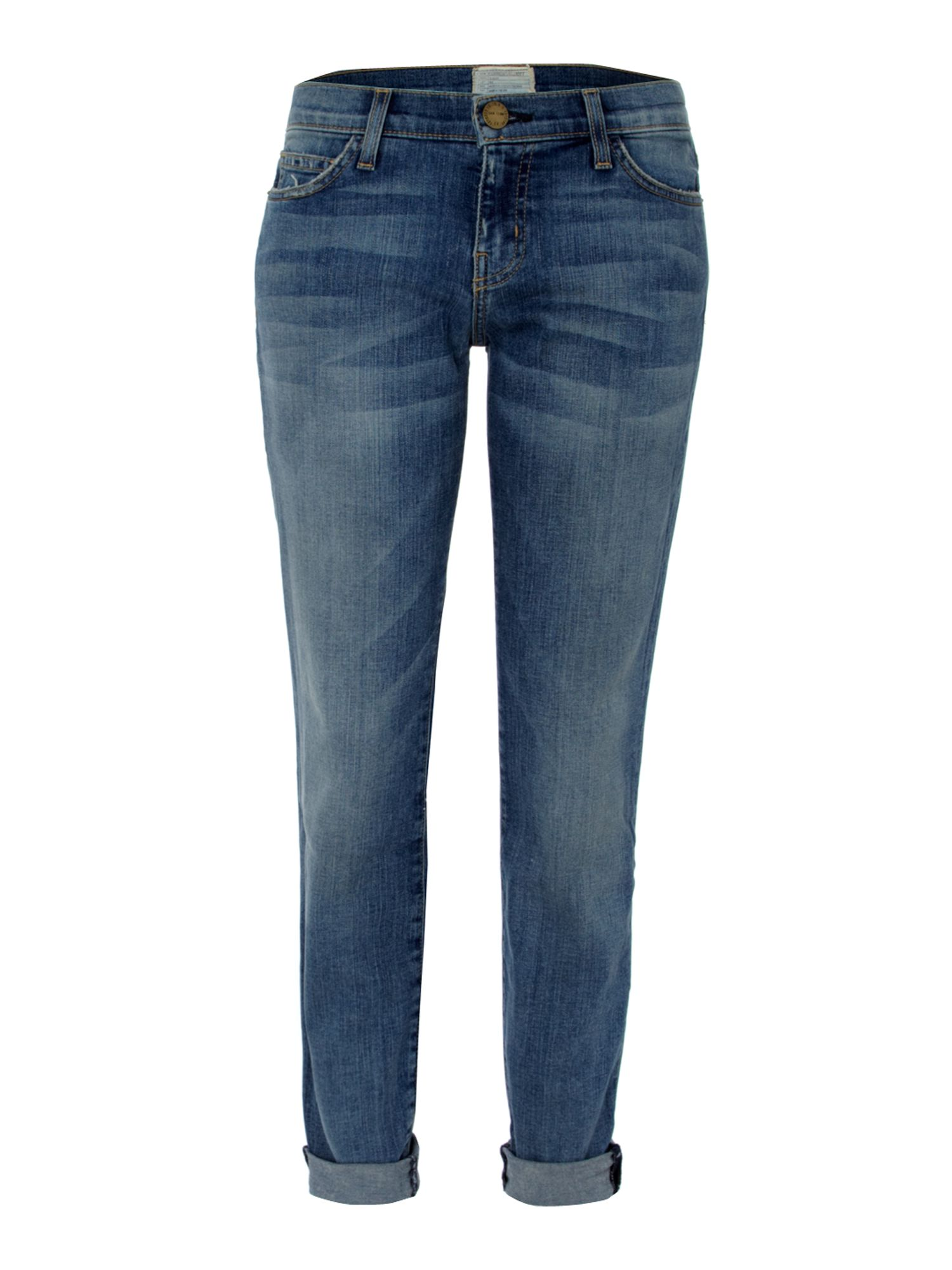 The Rolled Skinny boyfriend jeans in Bleeker