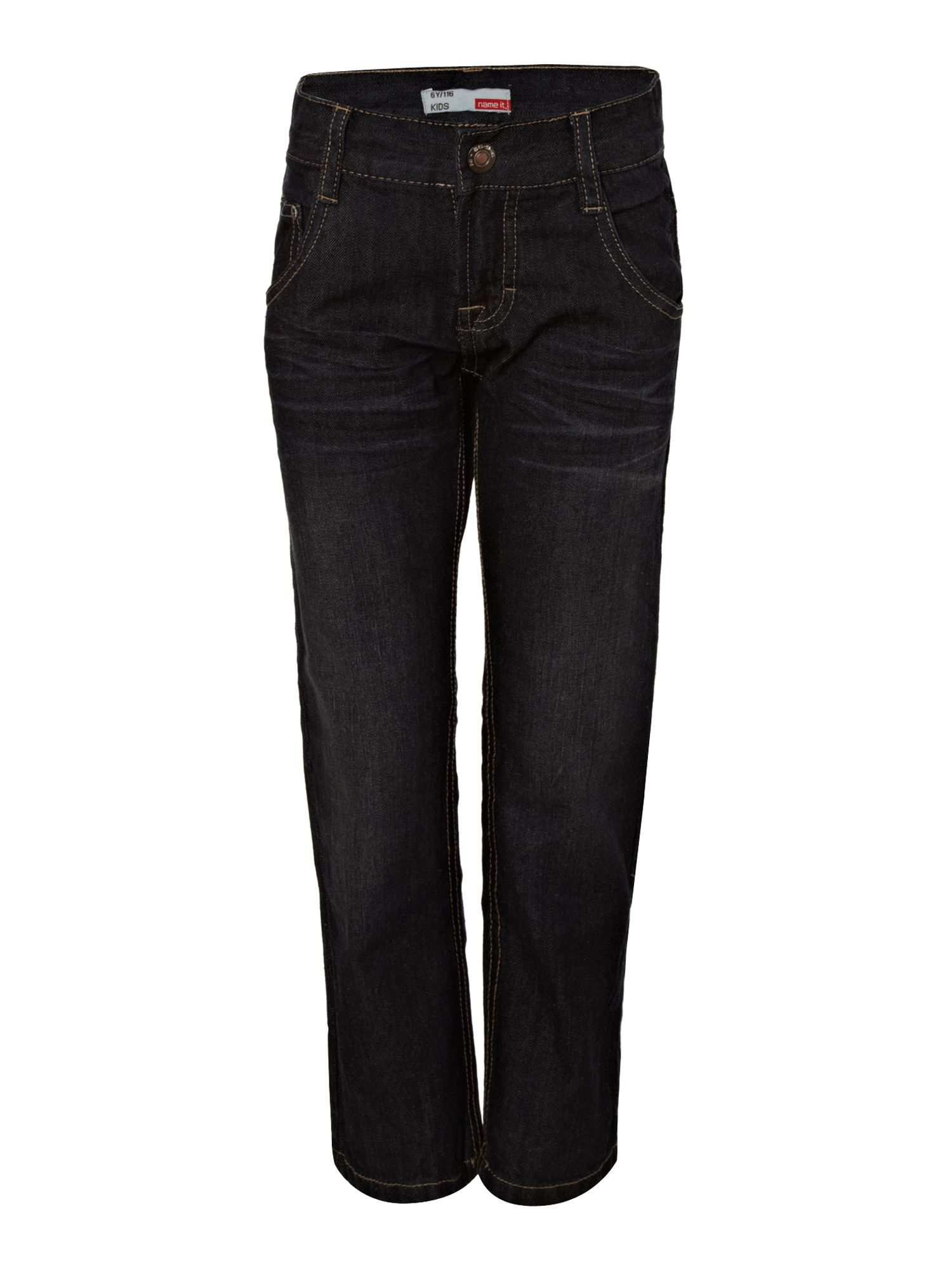 Boy`s regular fit straight leg jeans