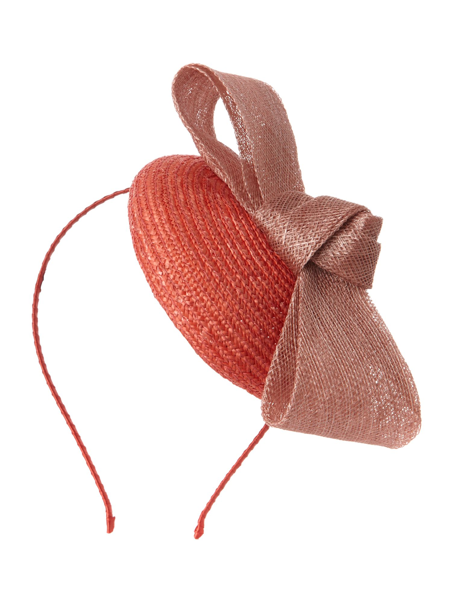 Bow pillbox fascinator