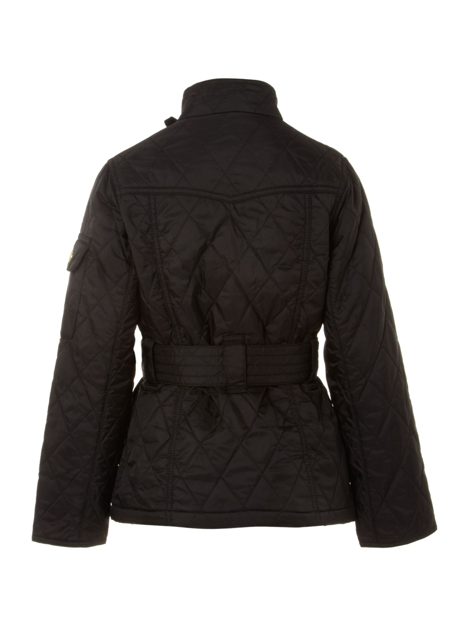 Girl`s Flyweight International quilted jacket