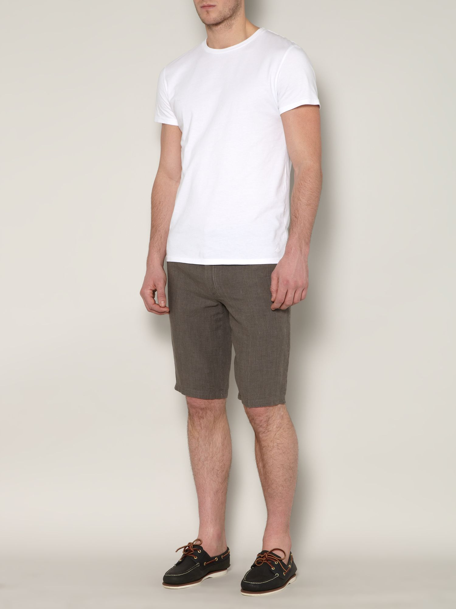 Amada stripe linen short