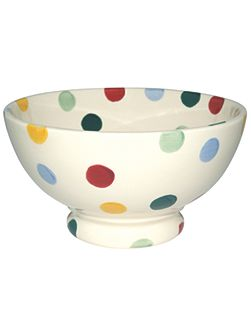 Polka Dot French Bowl