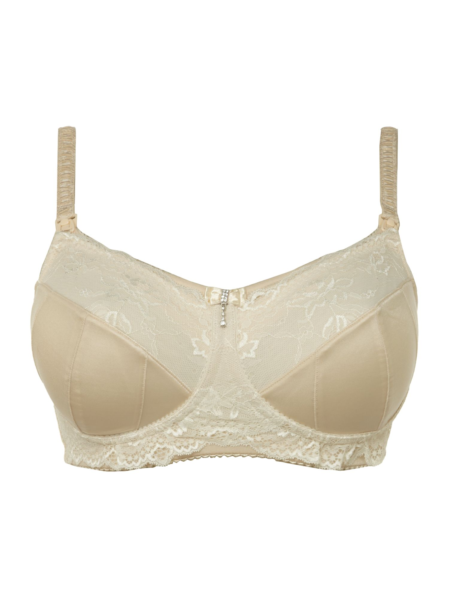 Luminous maternity bra
