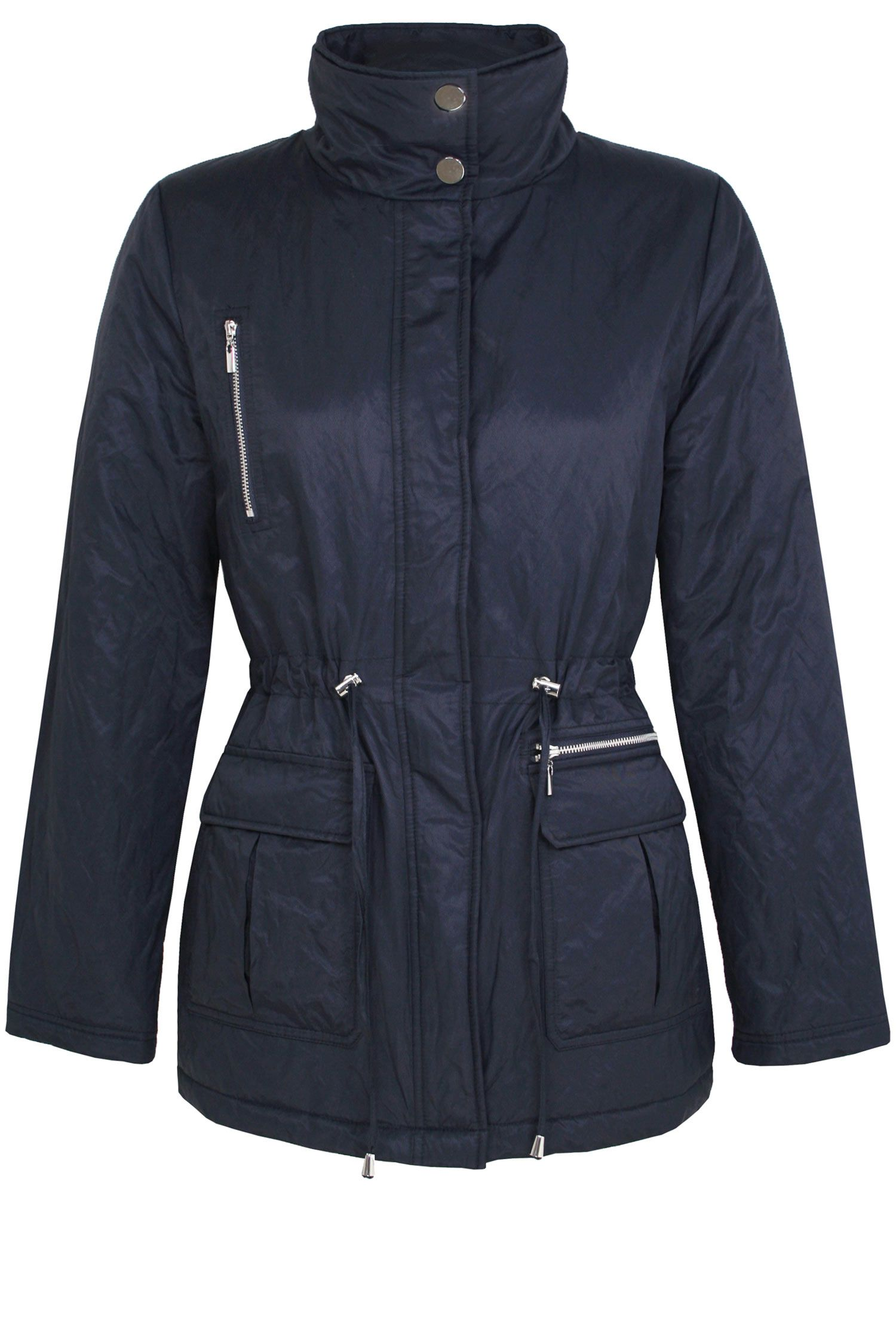 Padded parker jacket