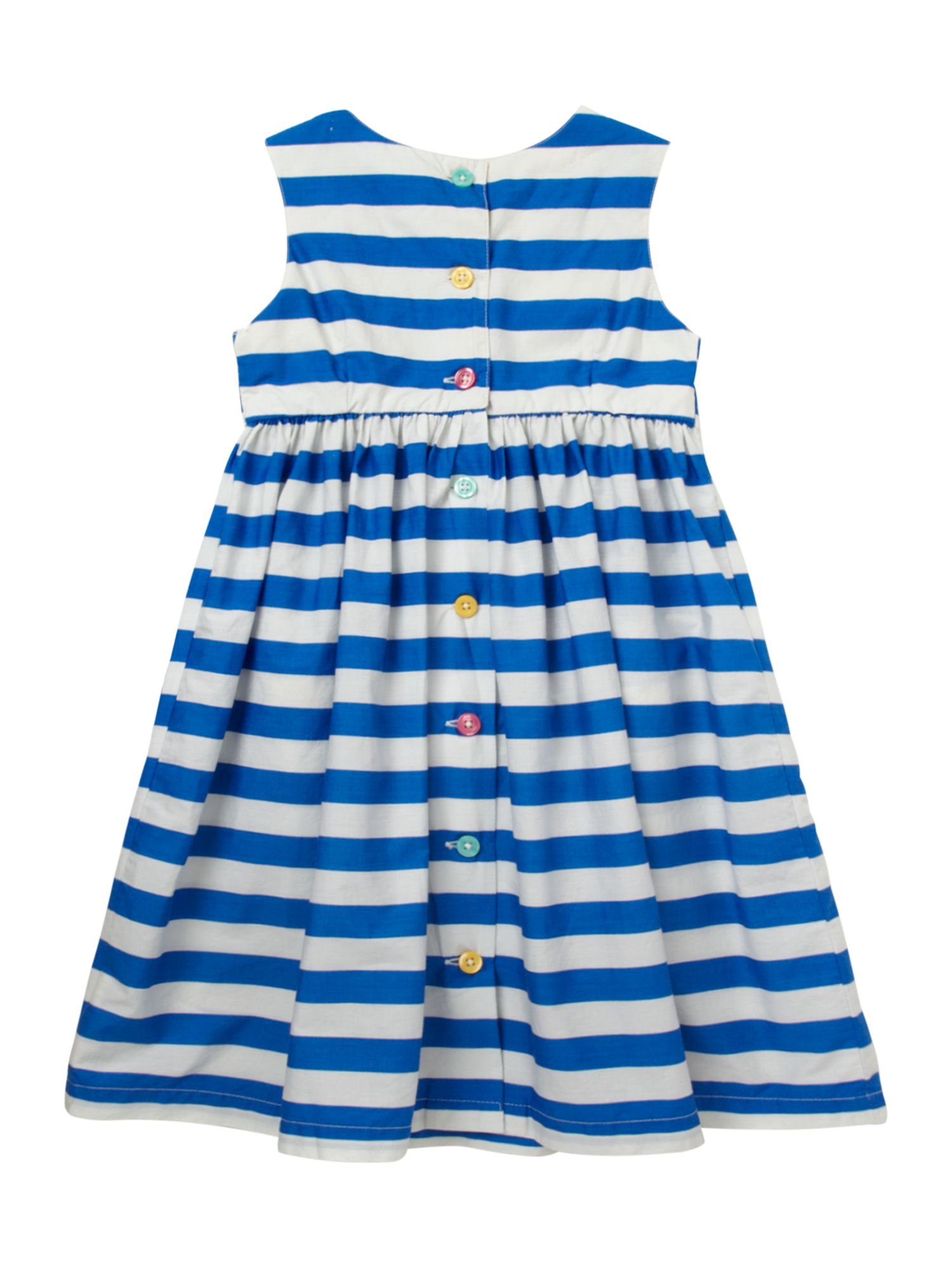 Girl`s stripe Camilla party dress