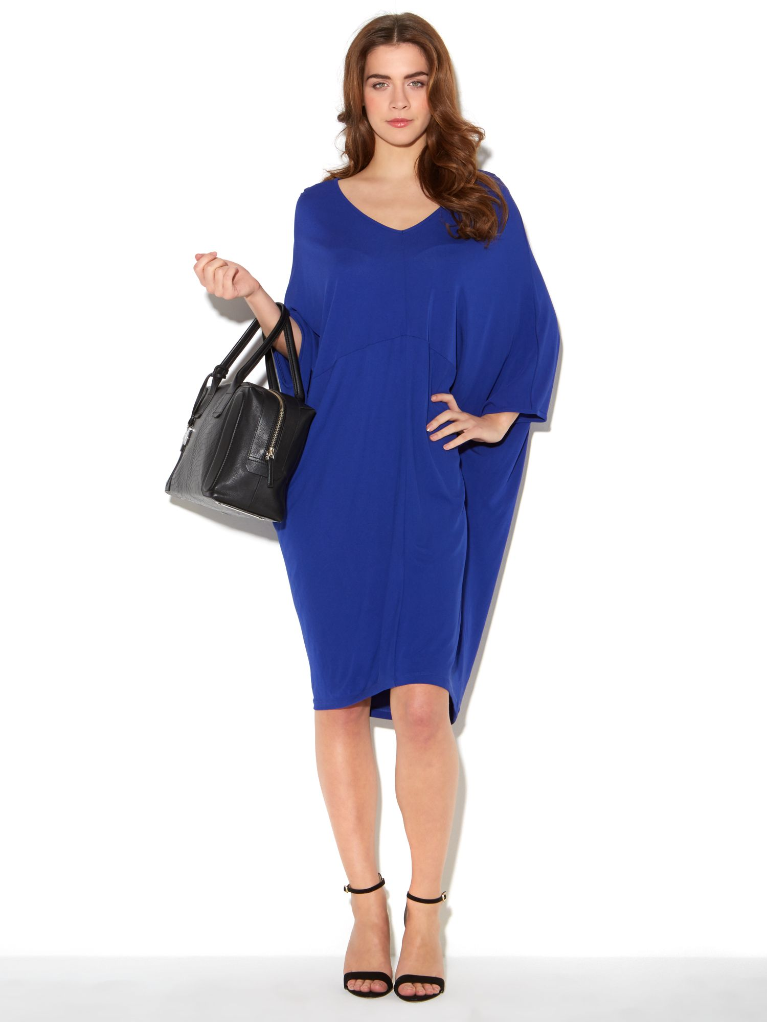 No brainer crepe dress