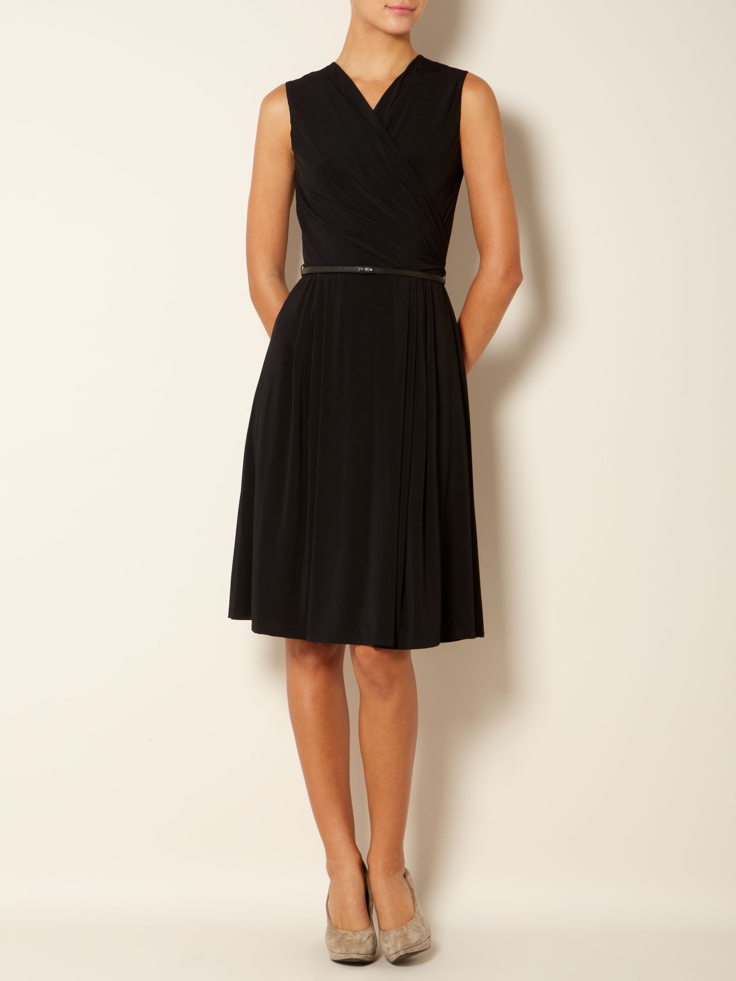 Vicino v-neck shift dress