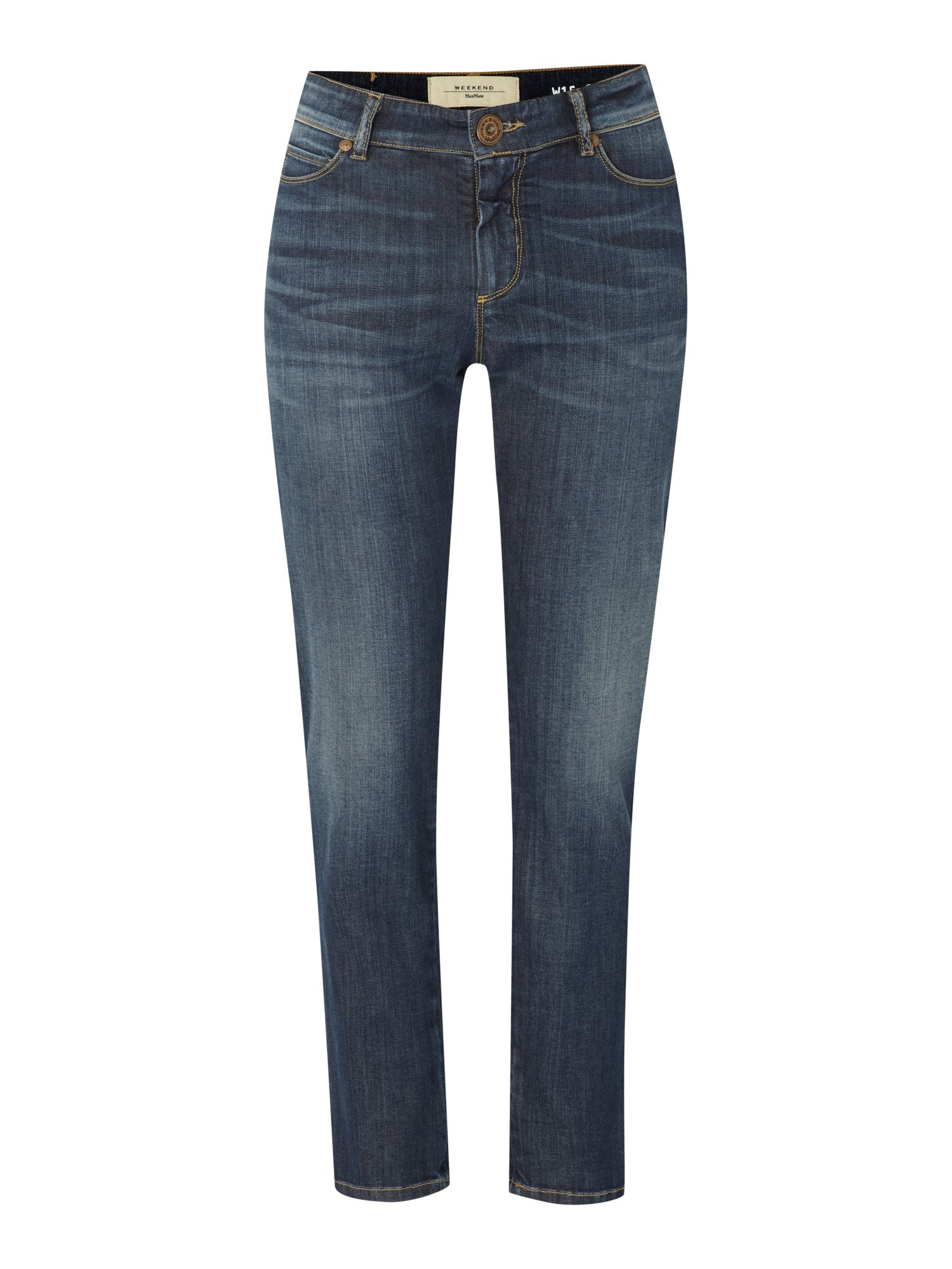 Calabra slim leg cropped denim jeans