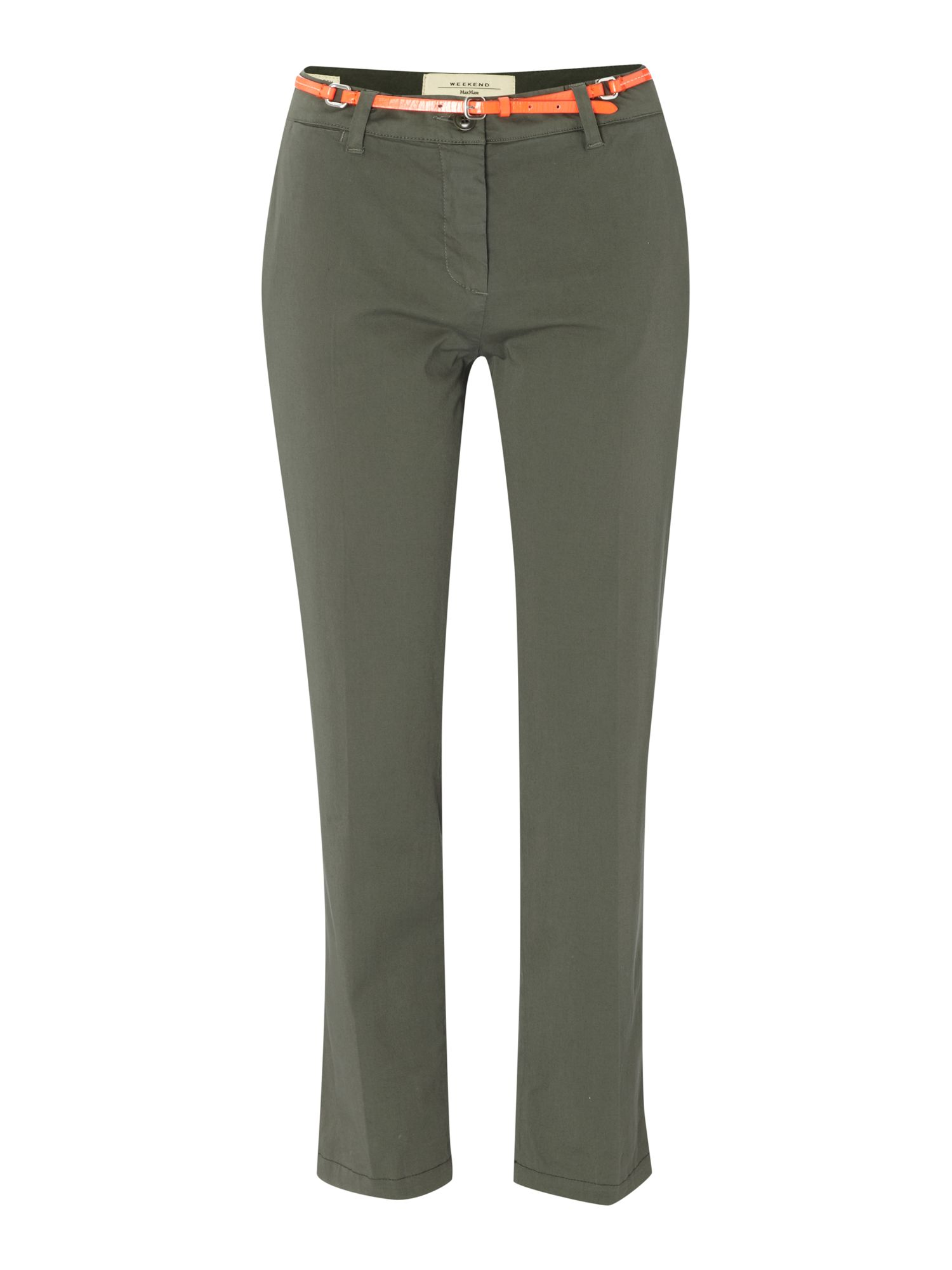 Audrey slim leg cropped trousers