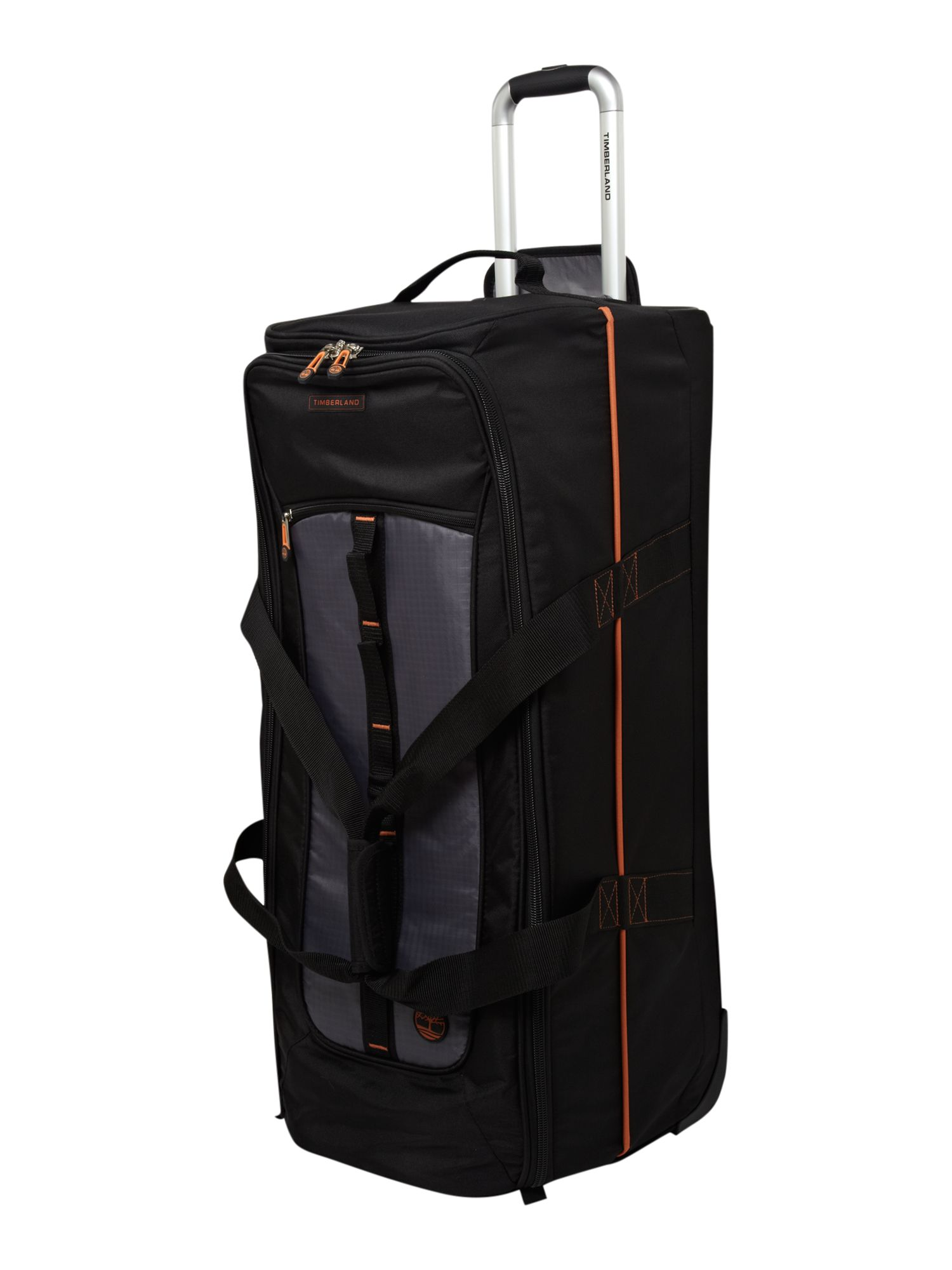 Jay Peak 32 Wheeled Duffle Black