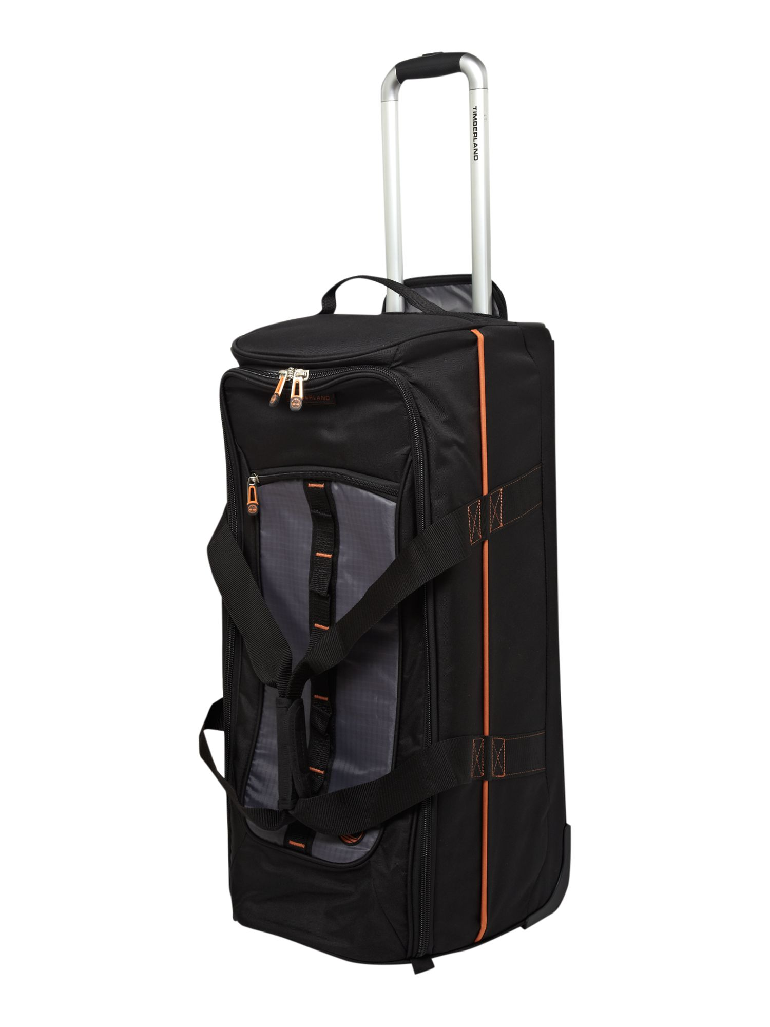 Jay Peak 28 Wheeled Duffle Black