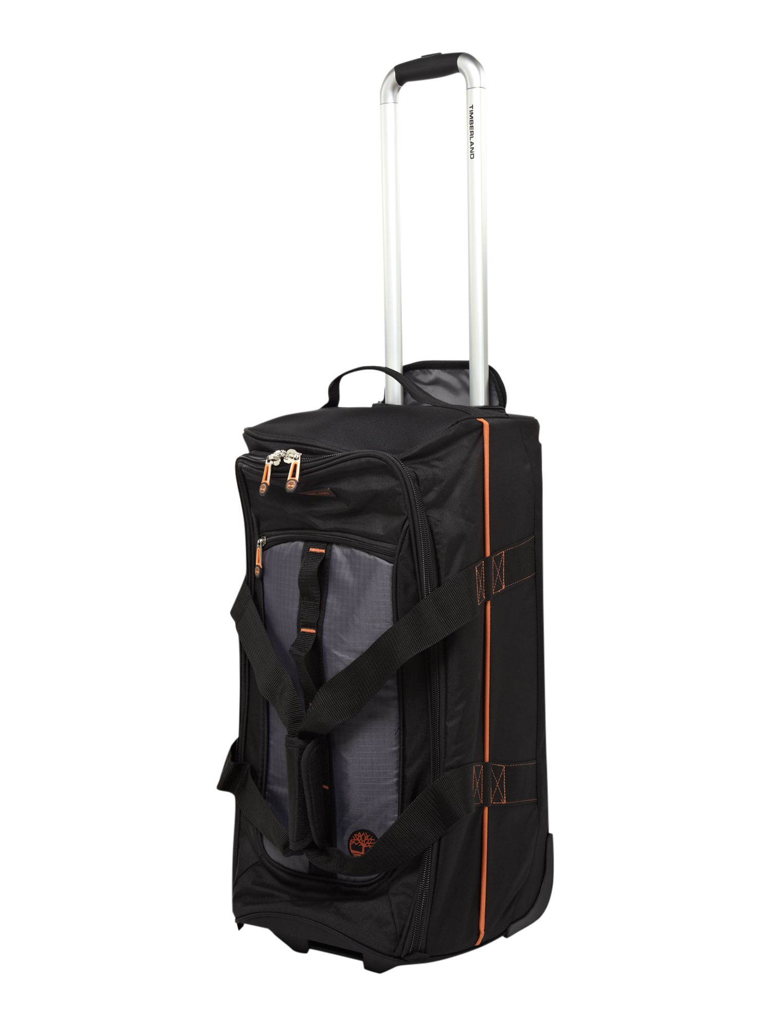 Jay Peak 24 Wheeled Duffle Black