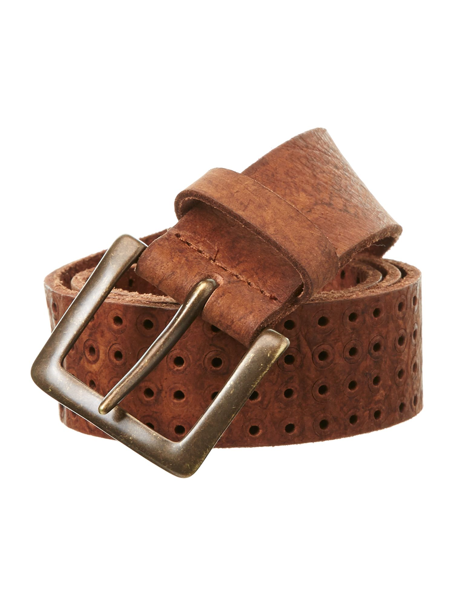 Oversized perforated belt