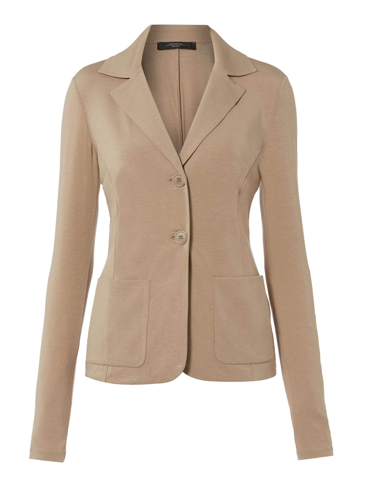 Verres jersey blazer with front pockets