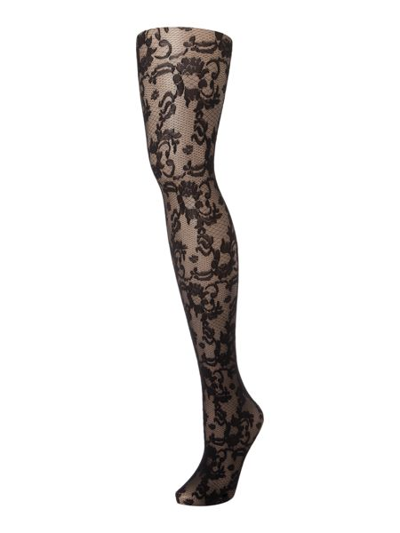 Charnos Ornate floral tights