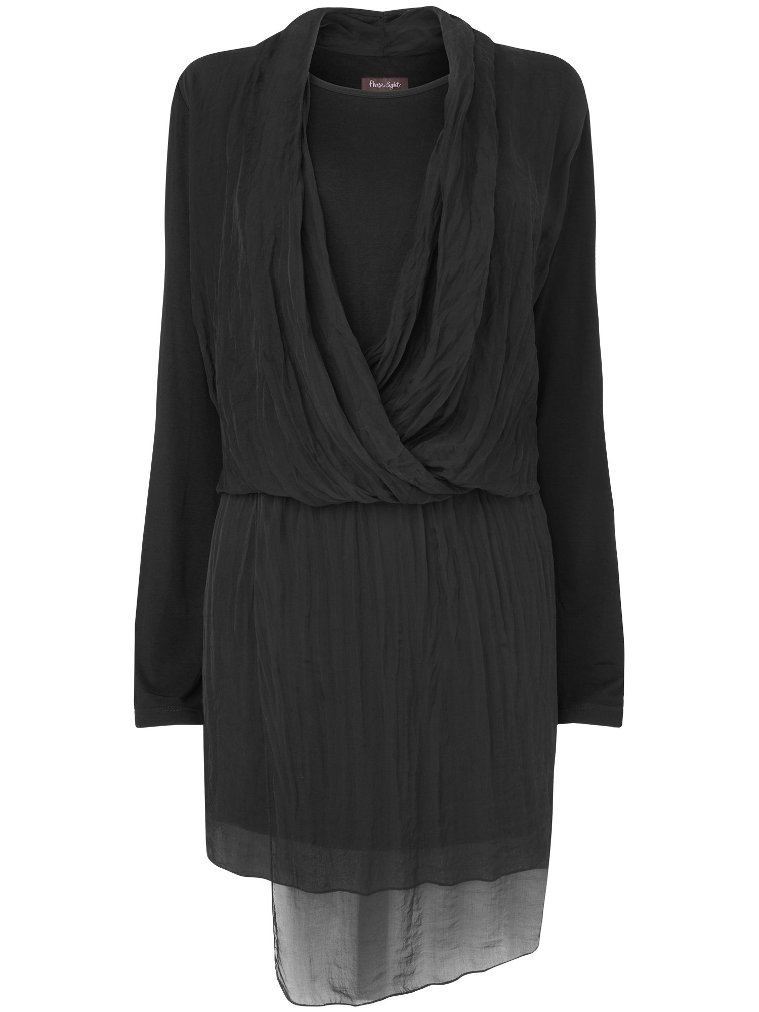 Eleanora silk jersey dress