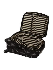 Lulu Guinness Bell Boy 53cm 4W Trolley Black