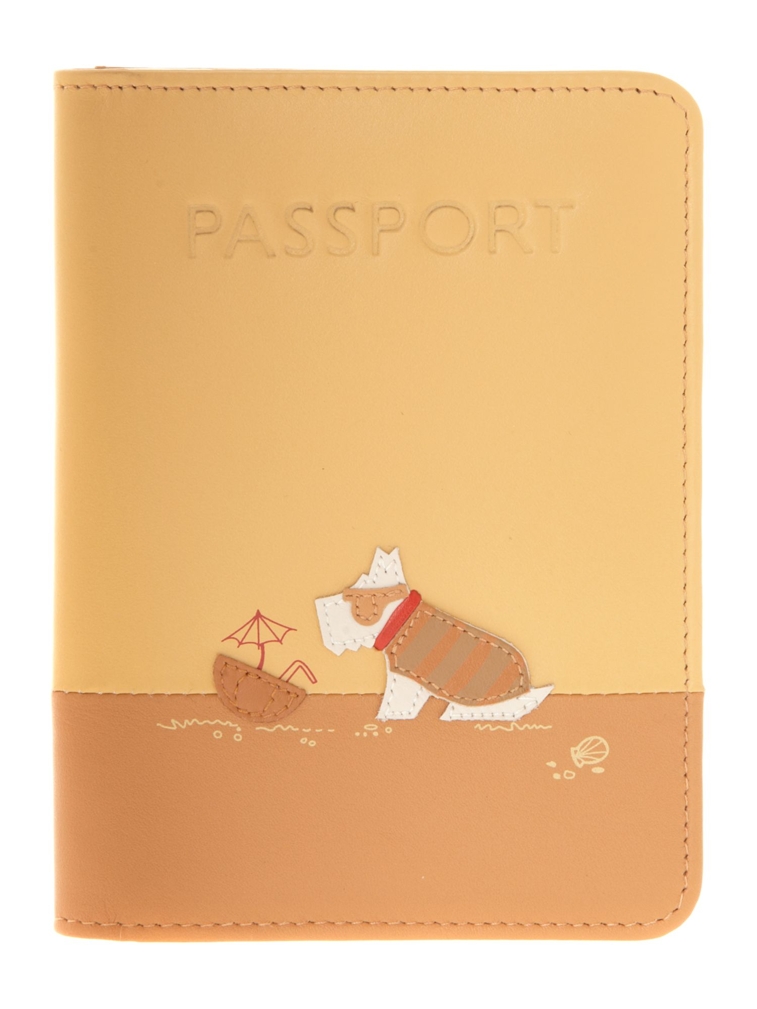 In the sun passport cover