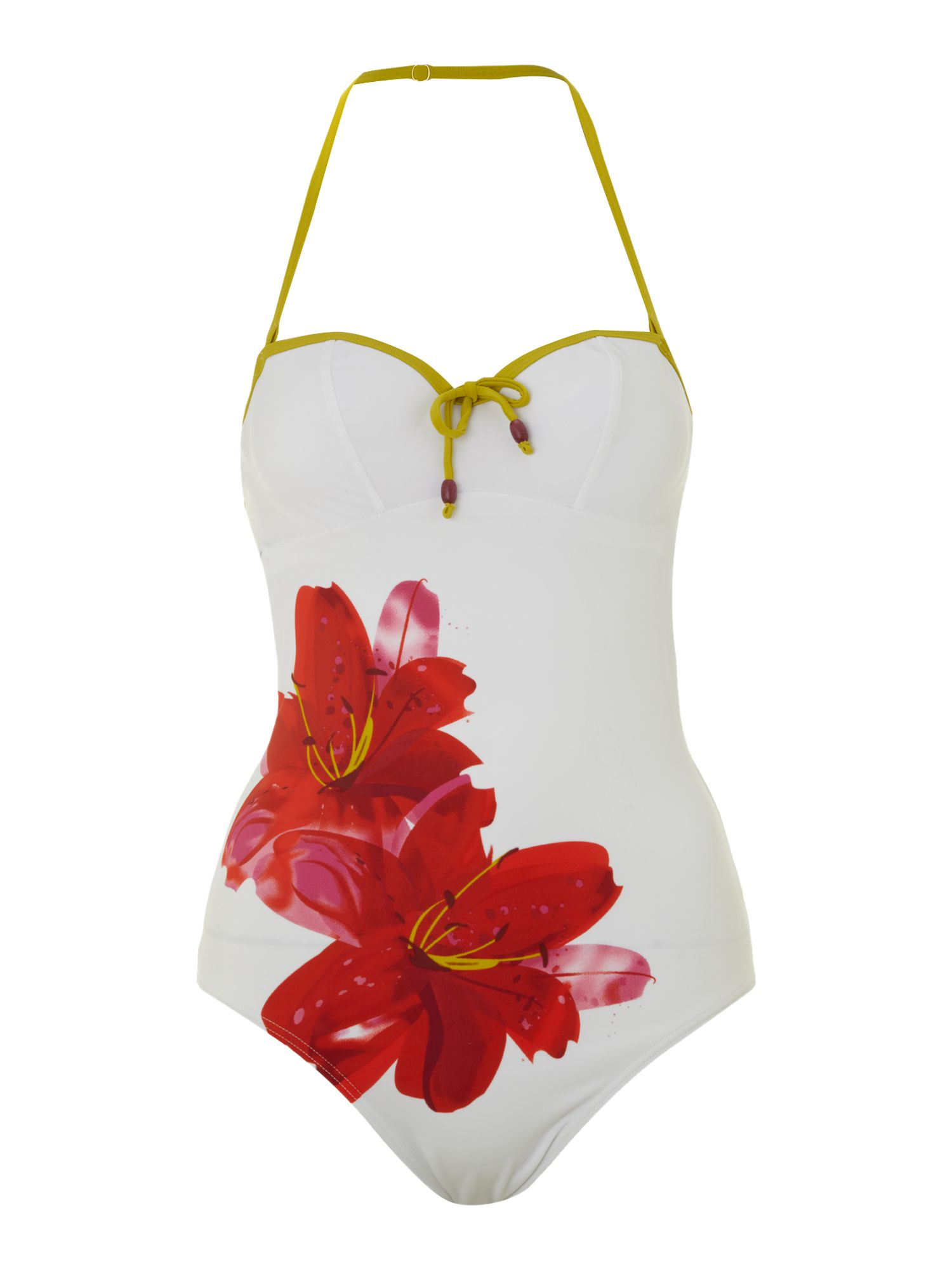 Capri v neck swimsuit