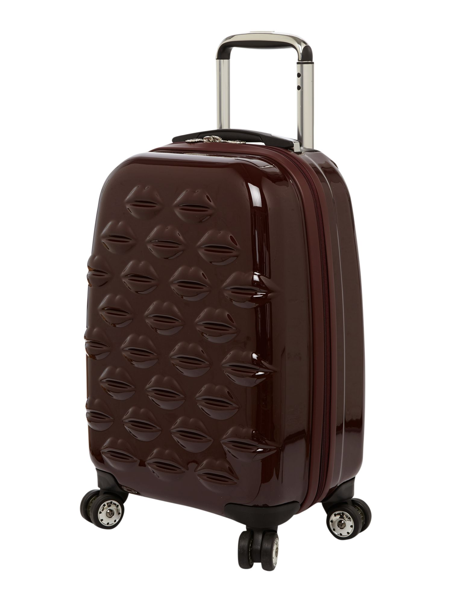 Lips 55cm 4 wheel Trolley black cherry