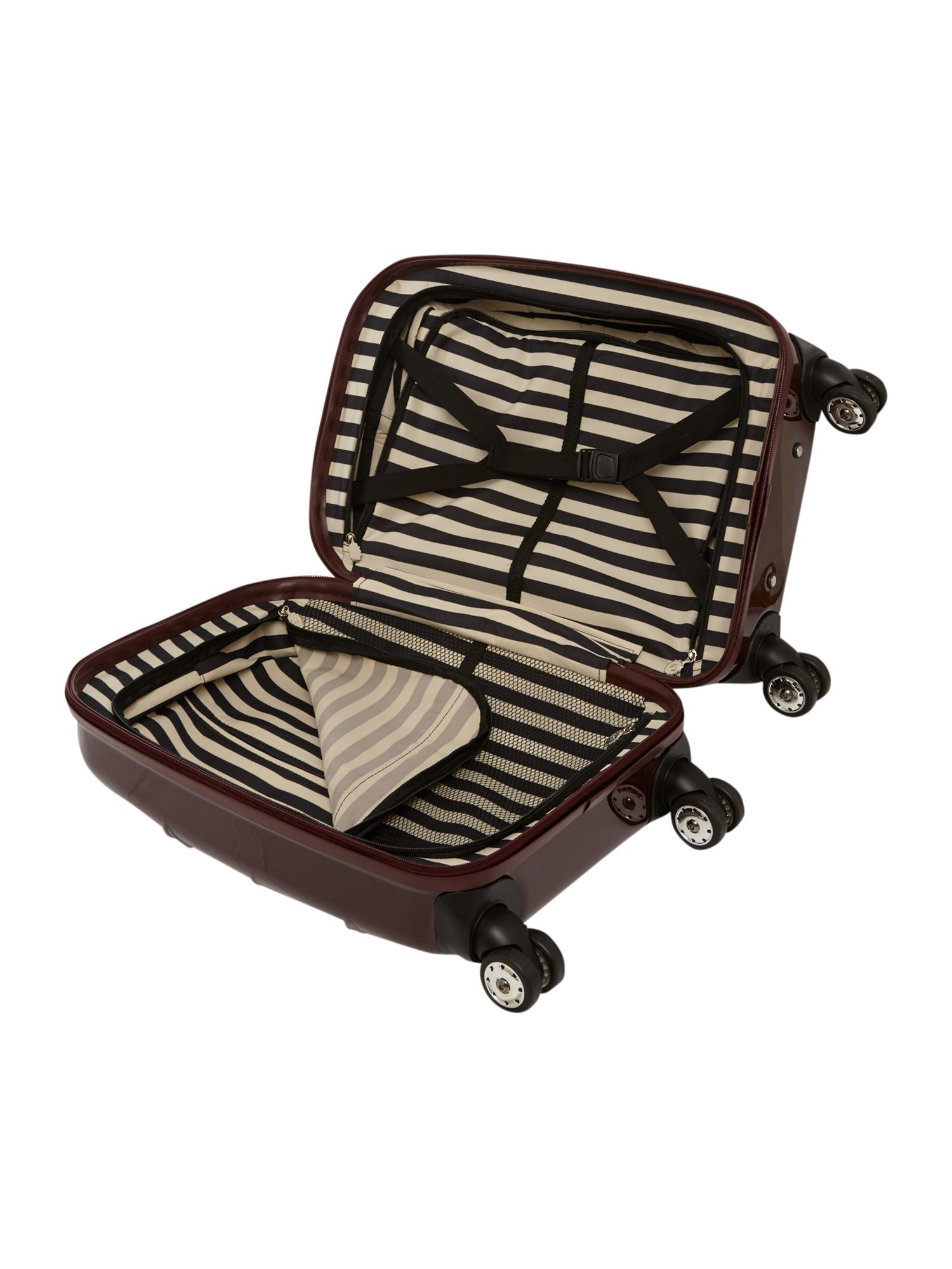 Lips 55cm 4W Trolley Black Cherry