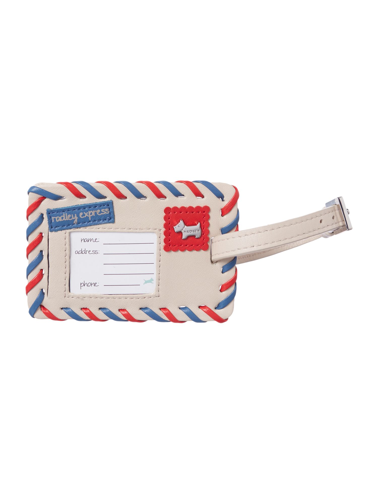 The travelling wanderer luggage tag
