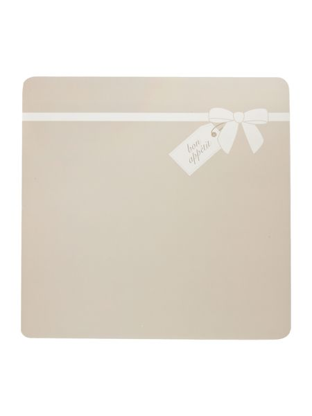Inspire Naturals with bow placemat set of 4
