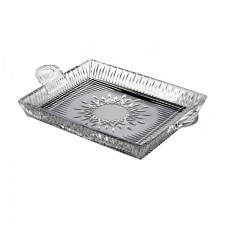 Waterford Lismore diamond square serving tray, 12
