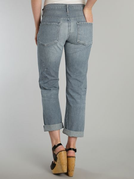 Citizens of Humanity Dylan cropped boyfriend jeans in Vertigo