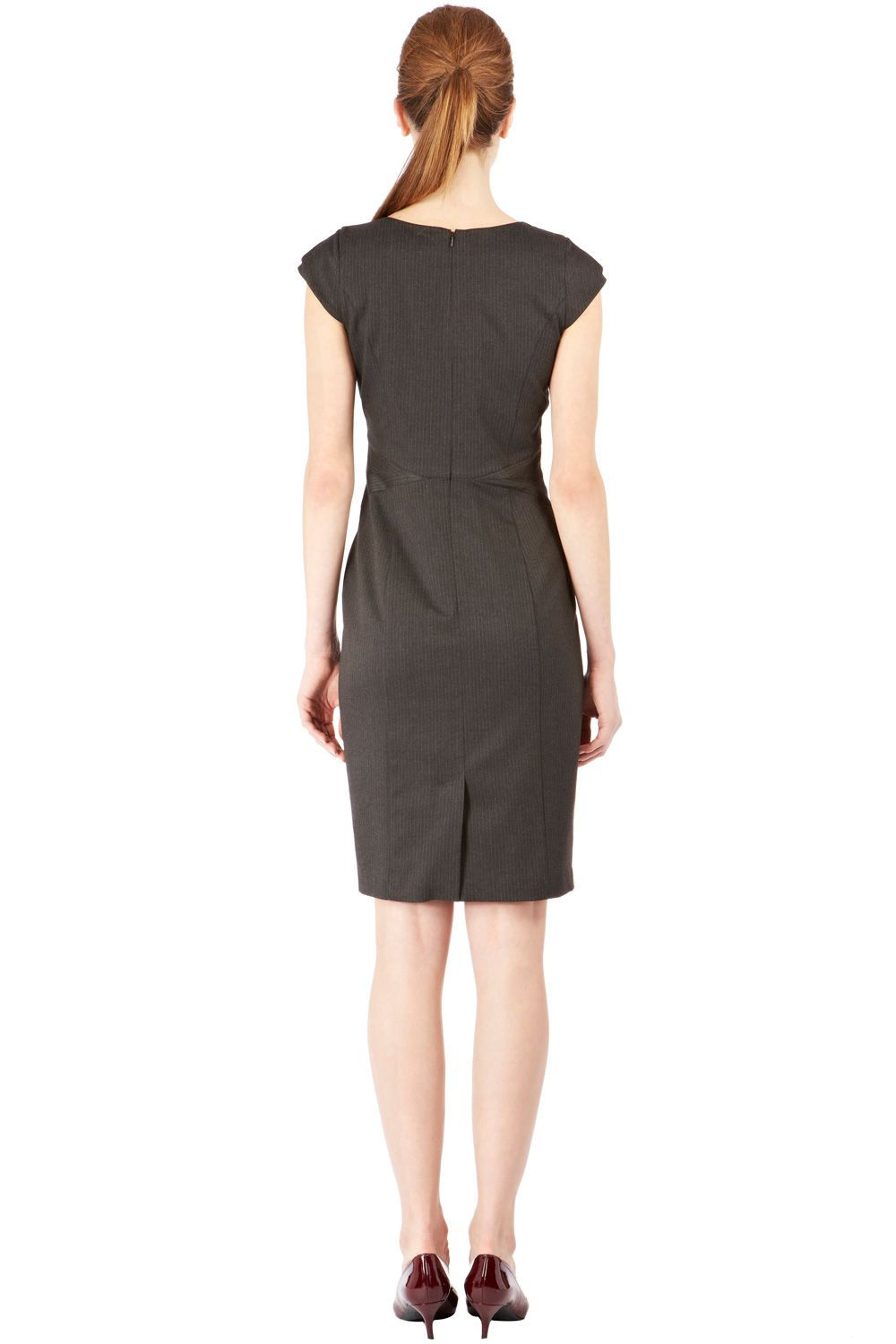 Seam detail workwear dress