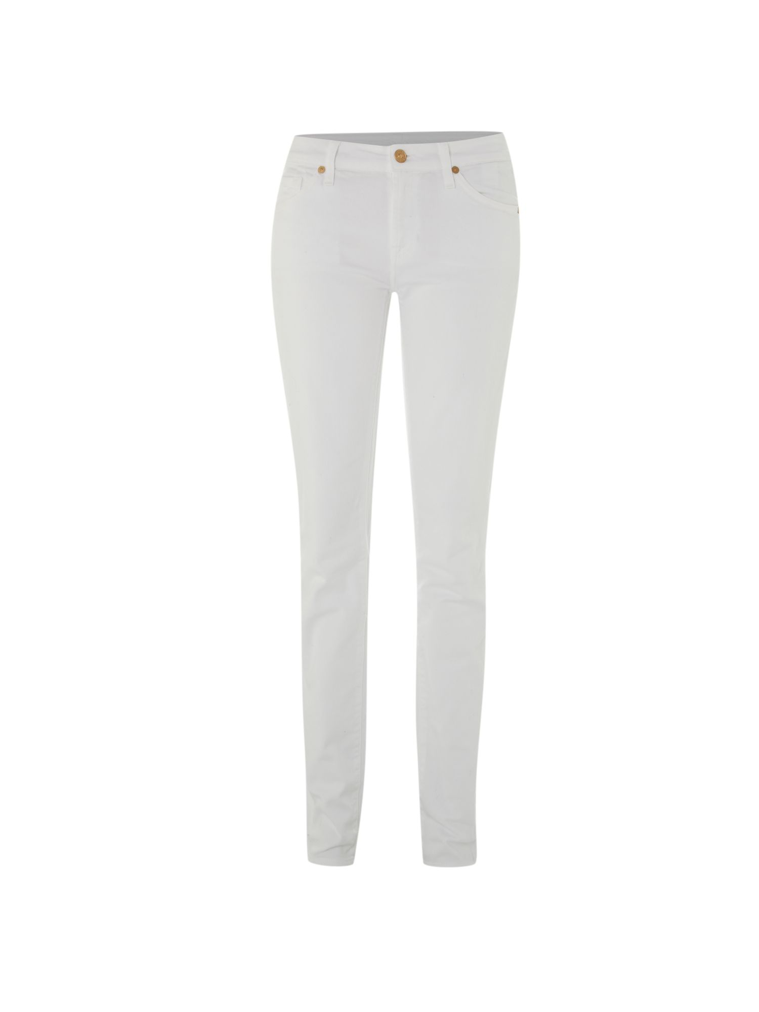 Cristen skinny jeans in White Denim
