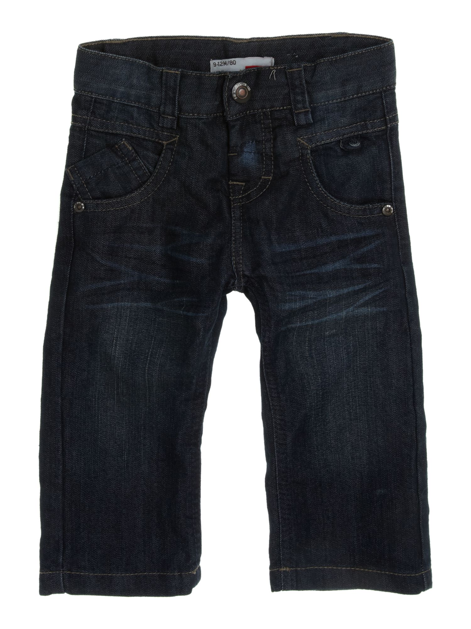Boy`s regular fit mid wash jeans