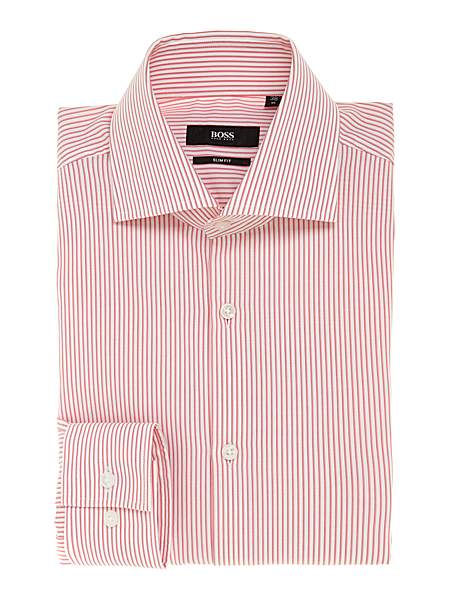 Hugo Boss Jaron Slim Fine Striped Shirt - WAS £119.00
