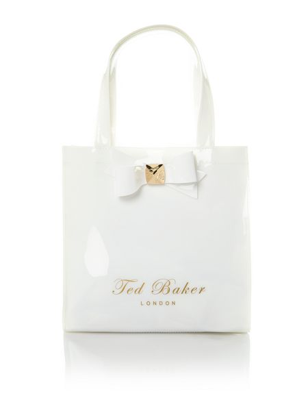 Ted Baker Studded bow small tote bag