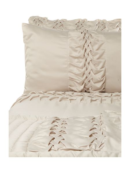Kylie Minogue Felicity square pillowcase champagne