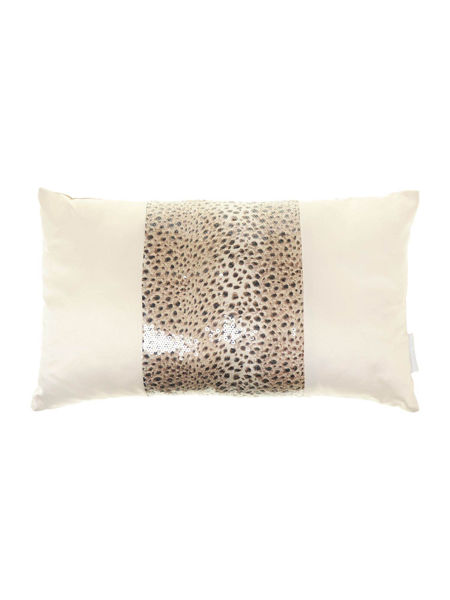 Leopaard boudoir cushion