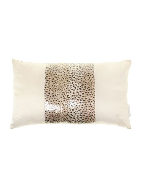 Kylie Minogue Leopaard boudoir cushion