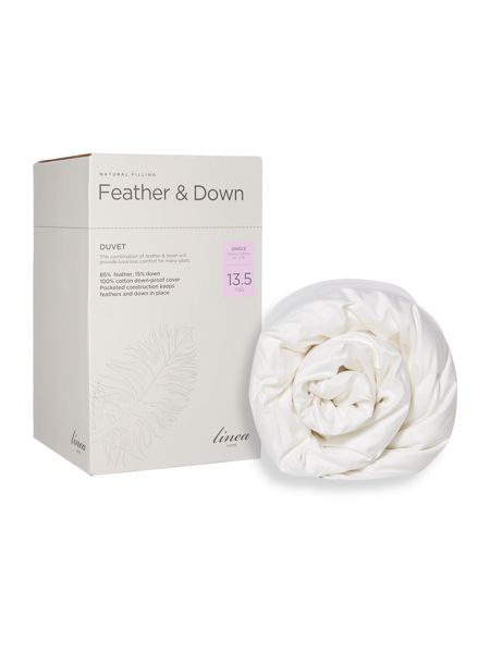 Linea Feather and down 13.5 tog single duvet