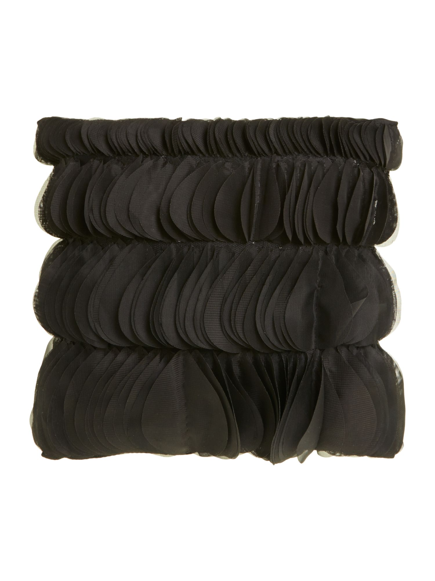 Nuovo cushion black