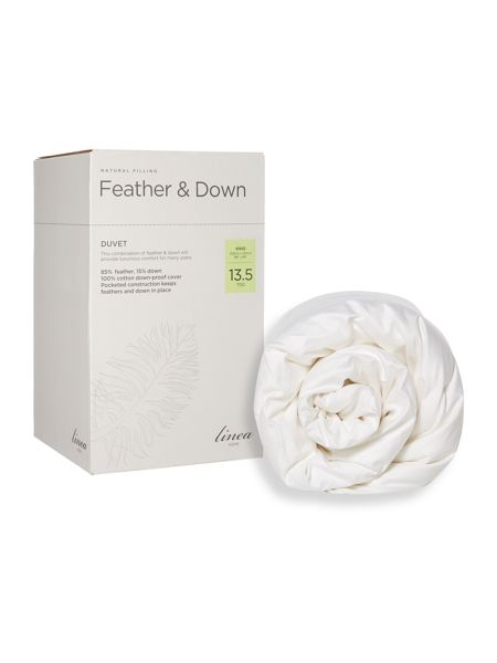 Linea Feather and down 13.5 tog king duvet