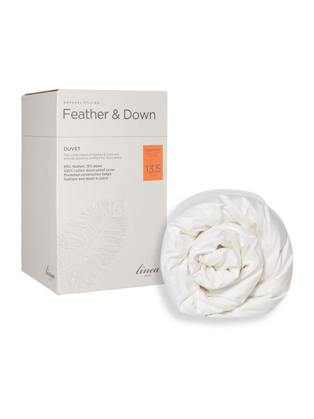 Linea Feather and down 13.5 tog super-king duvet