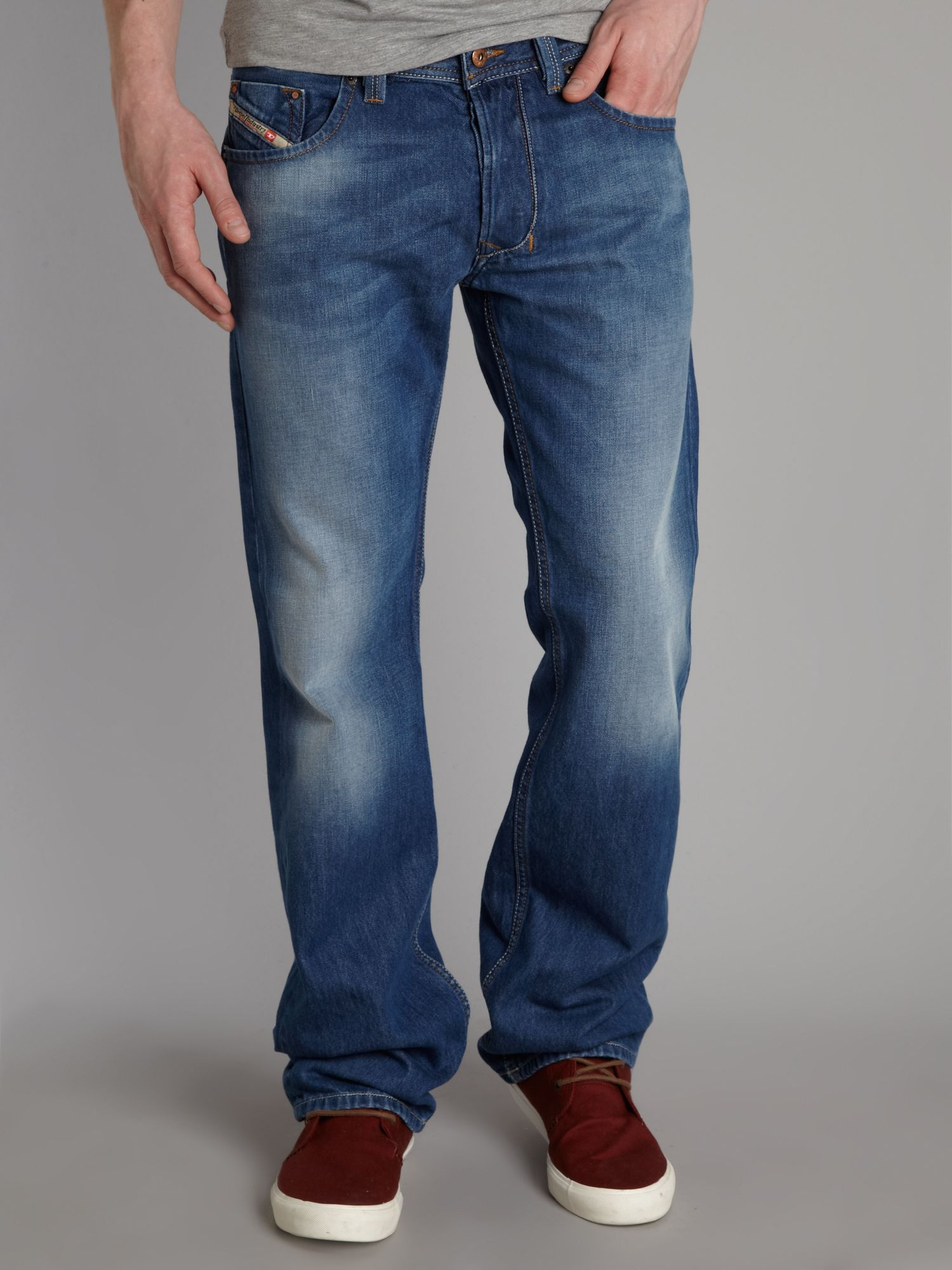 Larkee 810J regular straight jeans