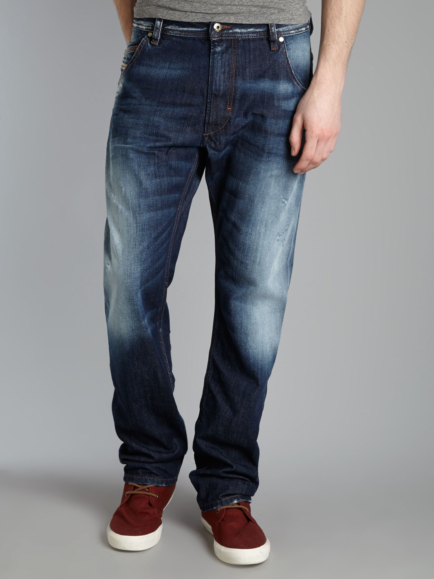 Krooley 810L regular slim carrot fit jeans