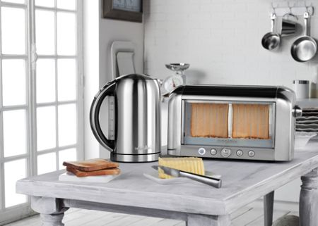 Magimix Brushed Kettle Charcoal Handle