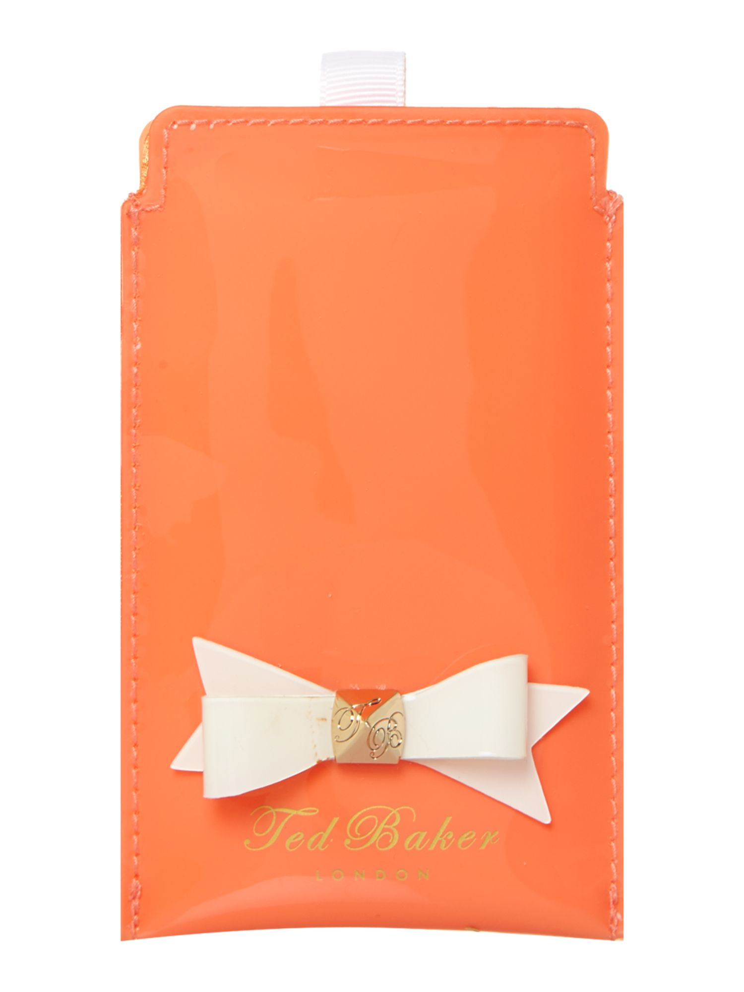 Bow phone case