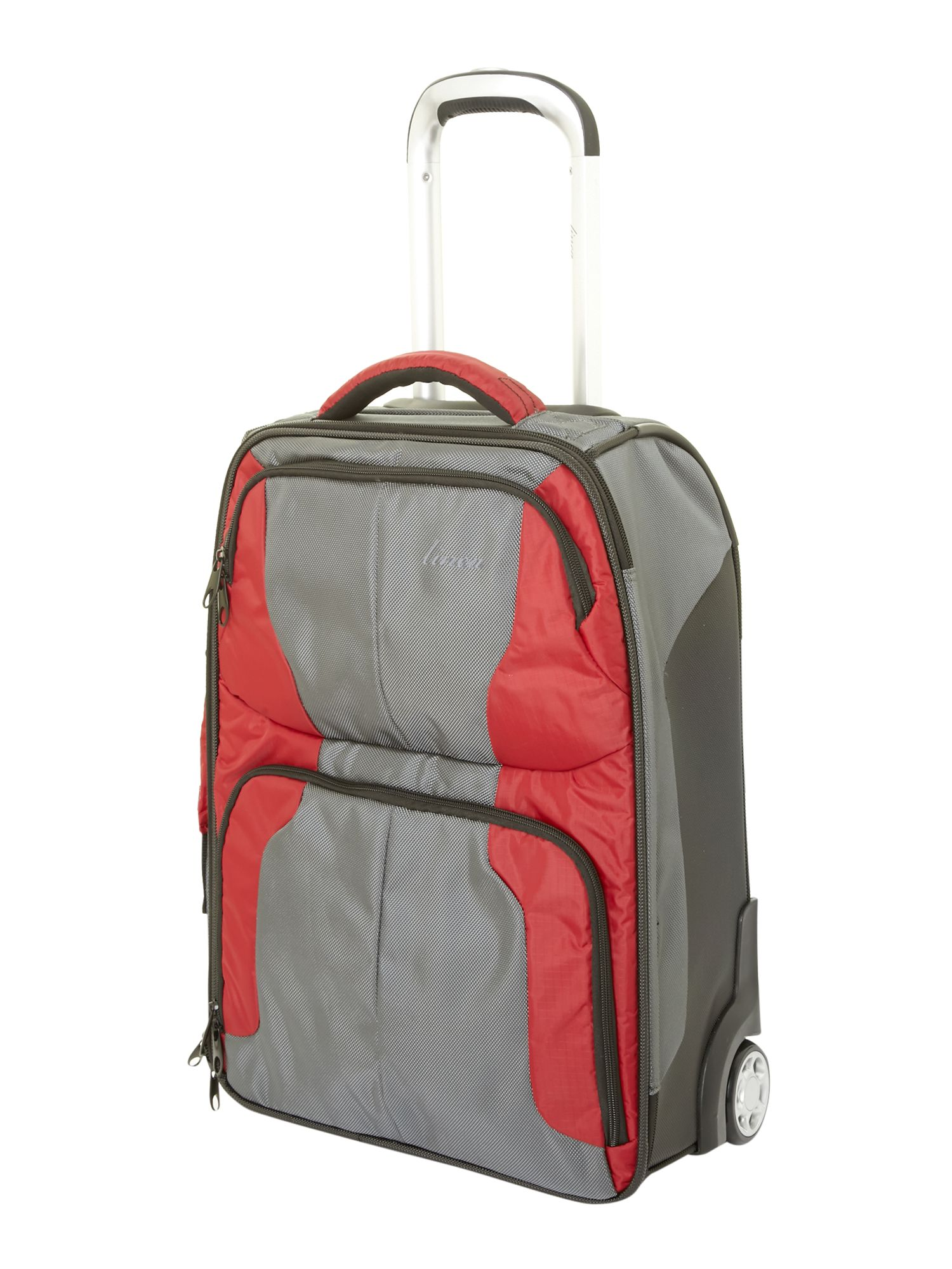 Linea Sml Duffle Red/Charcoal