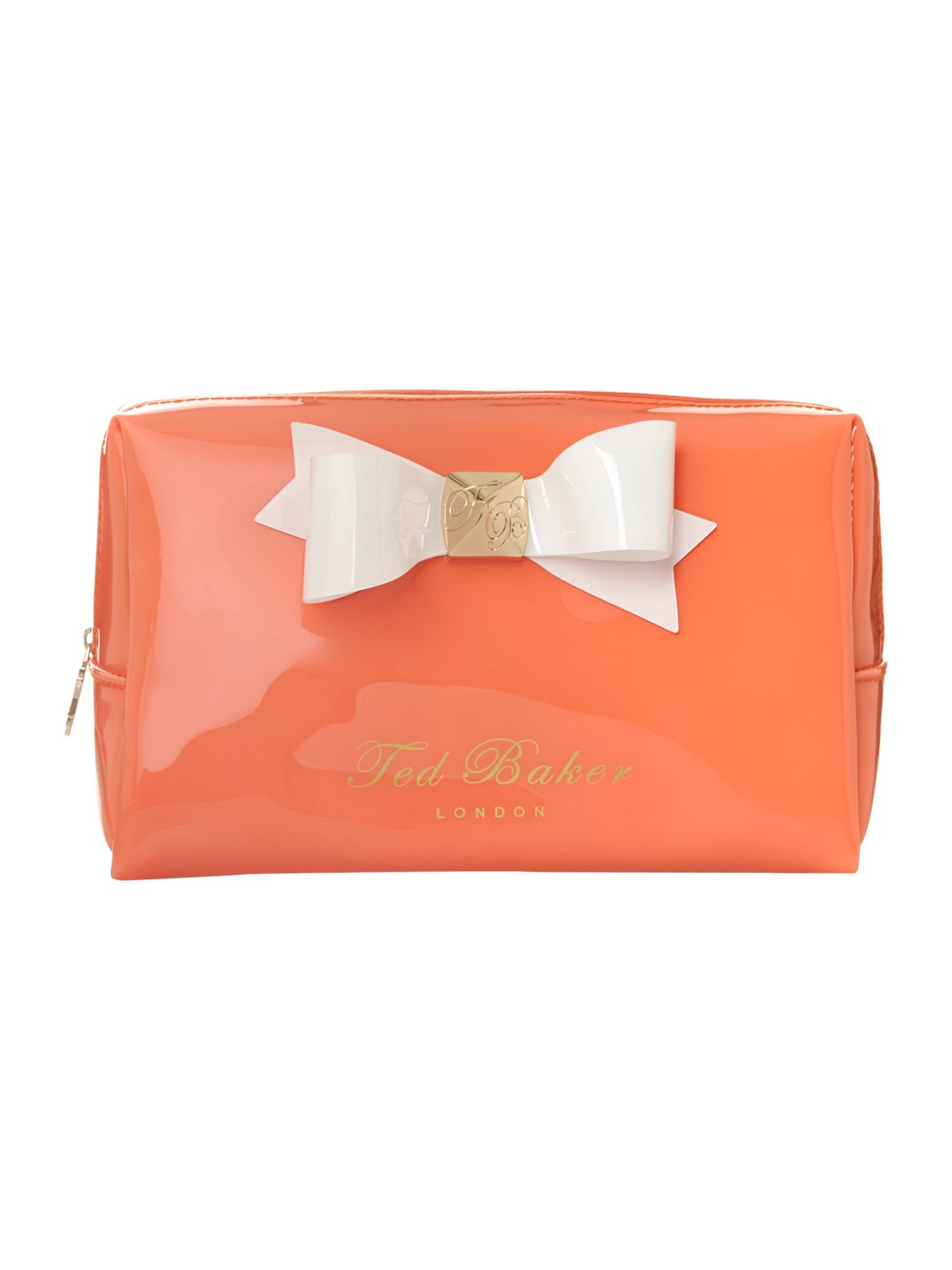 Bow large cosmetic bag