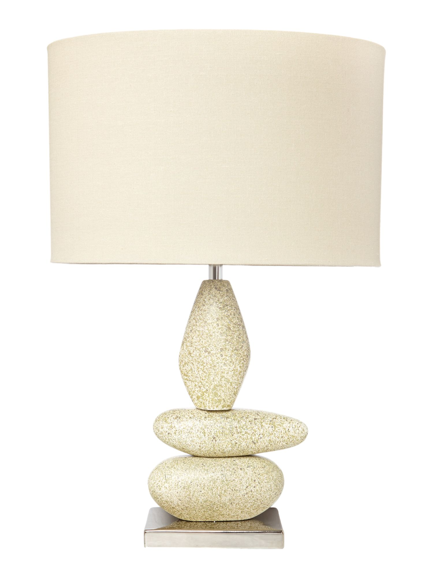 Milford pebble table lamp