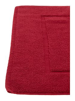 Zero twist bath mat cherry