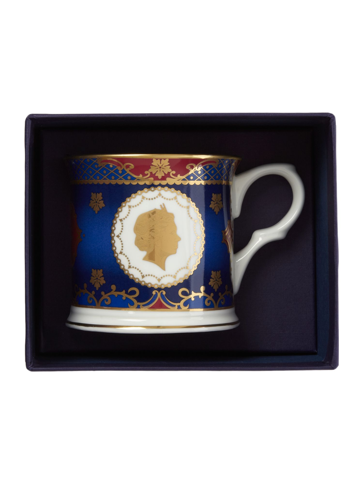 Royal coronation tankard